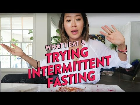 What I Eat In A Week & My Attempt on Intermittent Fasting  Aimee Song