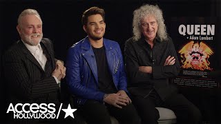 Queen & Adam Lambert Discuss Joining Forces Again For Their New Tour | Access Hollywood