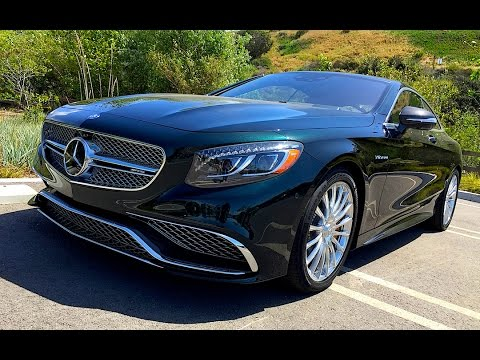 2015 mercedes benz amg s65 coupe v12 twin turbo preview for Mercedes benz v12 twin turbo