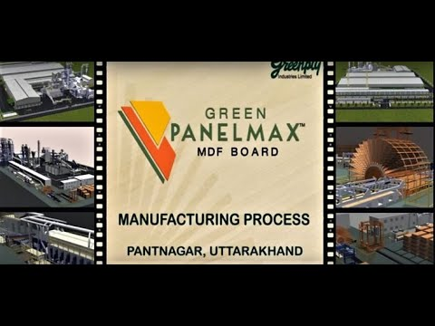 Greenply MDF Manufacturing Process Pantnagar