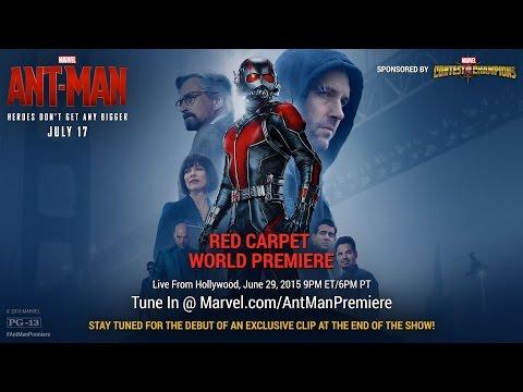 Marvel's Ant-Man Red Carpet Premiere
