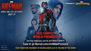 Marvel's Ant-Man Red Carpet Premiere