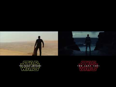 Thumbnail: Star Wars: The Last Jedi Teaser Compared to clips from The Force Awakens Trailers