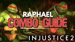 Raphael Combo Tutorial - Advanced Combos