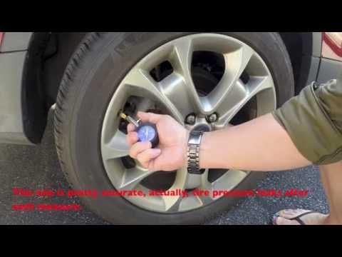Tire gauge comparisson - Accu Gage, Auto Meter 2160, Dan's Auto, Longeacre