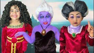 Disney Villains Compilation | Makeup Halloween Costumes and Toys