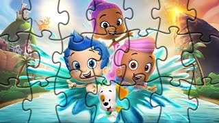 Гуппи и Пузырики Пазлы онлайн для детей/ Bubble Guppies Puzzles for kids | Marmi