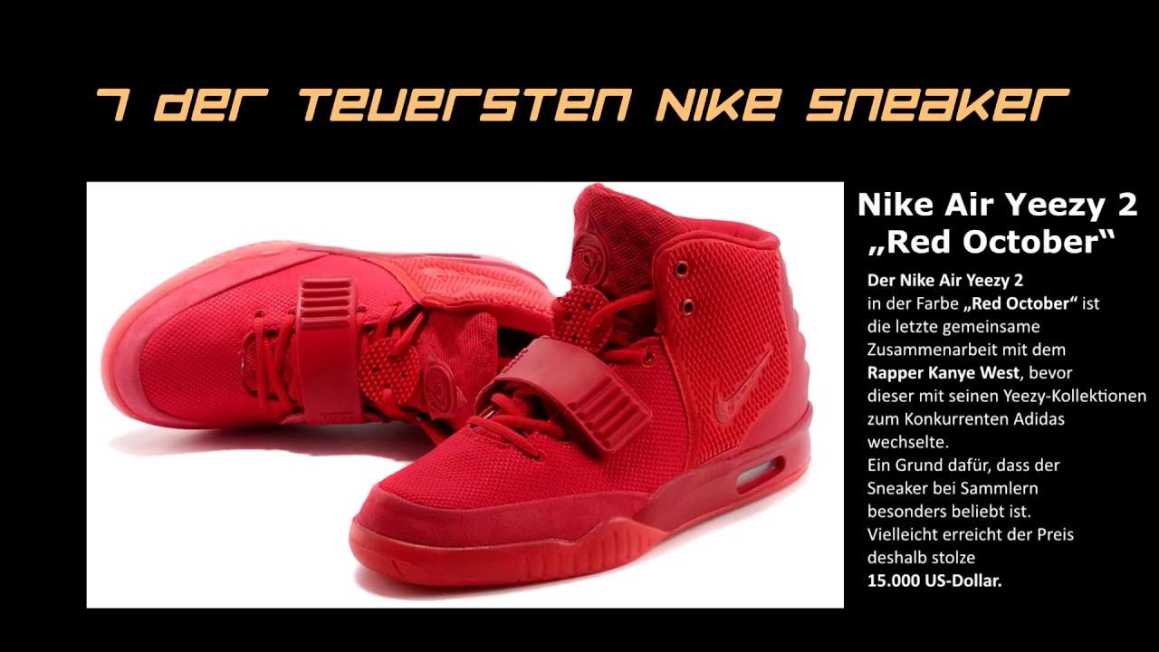 6155ca6566f0b Die teuersten ``Nike´´ Sneaker der Welt. - YouTube