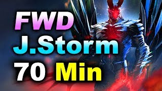 FORWARD vs J.STORM - 70 Min NA vs NA Elimination! - CHONGQING MAJOR DOTA 2