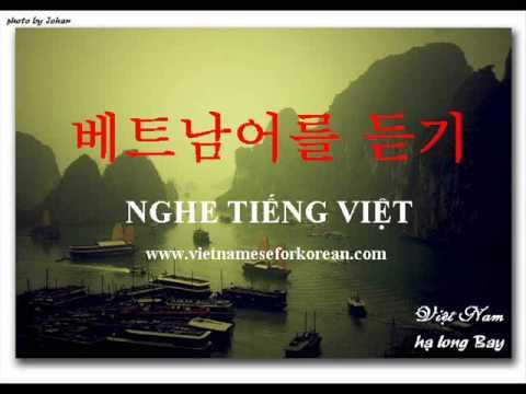 """""""베트남어 300"""" 교재 - 1과  새로운 단어"""
