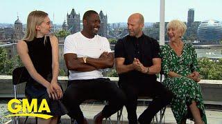 'Hobbs and Shaw' stars talk high-octane film l GMA