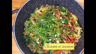 Перловка с овощами и беконом Как приготовить вкусно
