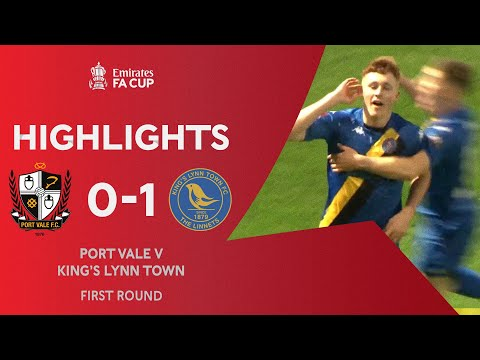 Port Vale King's Lynn Goals And Highlights