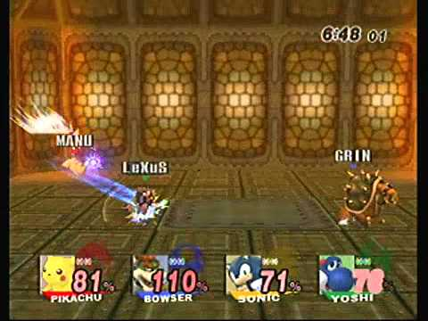 Download [SSBB hack] - 4 player match at Ganon's