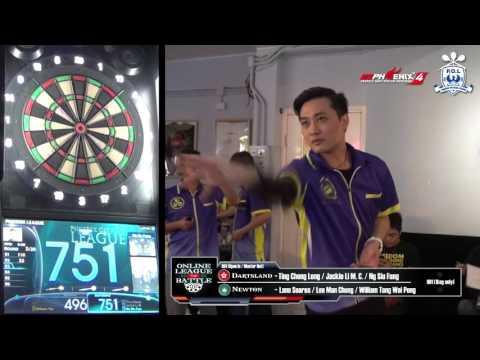 Online League Battle - Dartsland (HK) VS Newton (MO) Game 8