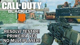 Jogando CALL OF DUTY Depois de MUITO Tempo! | Black Ops 4 Gameplay Multiplayer em Nuketown
