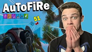 Using Auto Fire on Fortnite Mobile Part 3