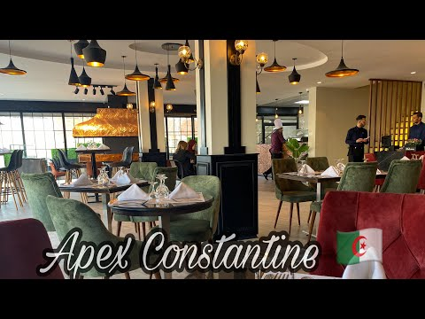 Reviewing New Restaurant In Constantine (apex Restaurant🇩🇿) || Spend A Random Day With Me 😌