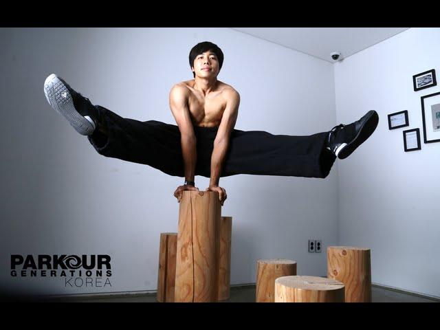 Traceur Jiho Kim 2014 | 파쿠르 코치 김지호