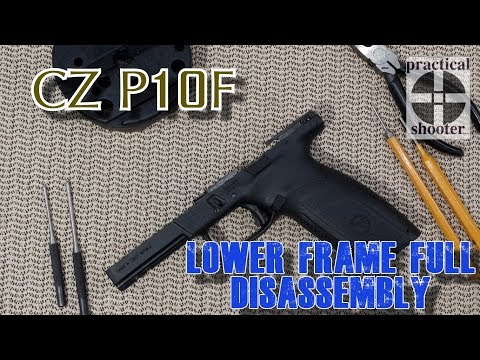 CZ P10F / P10C Lower Frame Full Disassembly / Reassembly