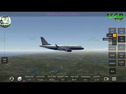 Infinite flight Gadget pilots SNF/ERJ-170/#3