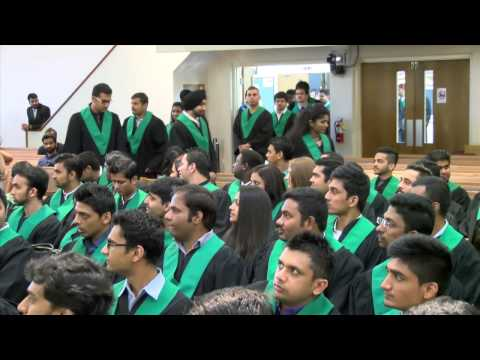 Lambton College In Toronto 2015 Convocation Ceremony (highlight video)