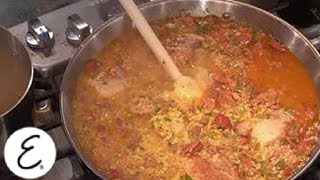 Spanish Paella With Sammy Hagar - Emeril Lagasse