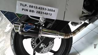 Knalpot Racing New CBR 150 R AHM K45 CBR LOKAL
