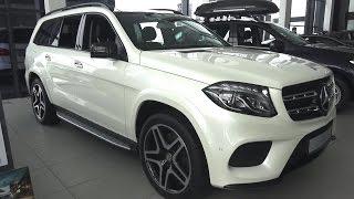 2016 Mercedes-Benz GLS 350d 4MATIC (X166). Обзор (интерьер, экстерьер, двигатель).