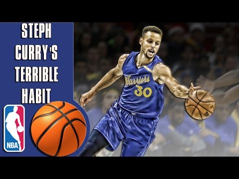 Steph Curry's terrible habit that may...
