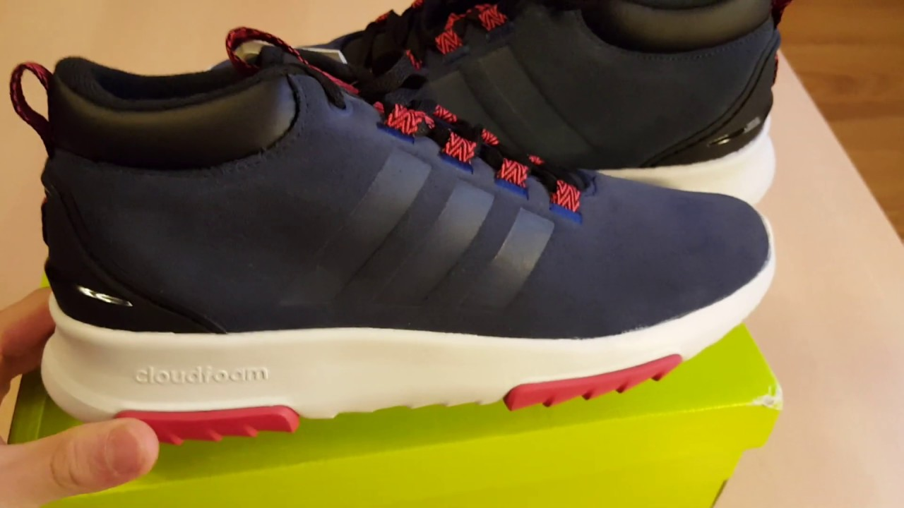 Unboxing butów/ shoes Adidas Neo CF RACER MID WTR BC0128