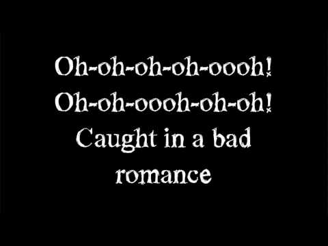lady gaga - Bad Romance - Lyrics on screen Mp3