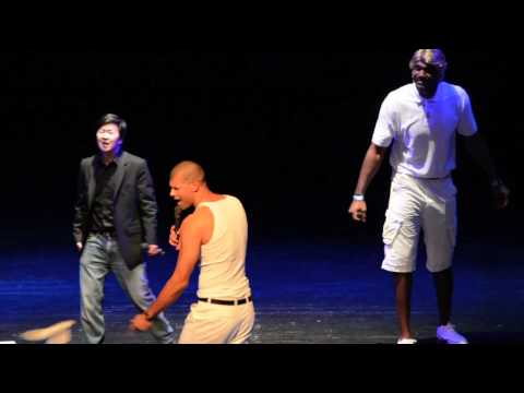 "Shane Battier, Greg Oden, & Ken Jeong -- ""I Want It That Away"" (Battioke 2014)"