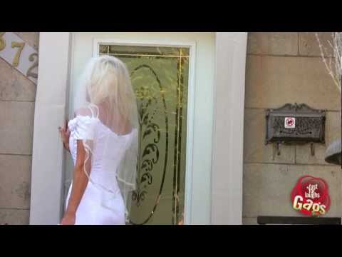 Clumsy Groom Hits Hot Bride in the Head