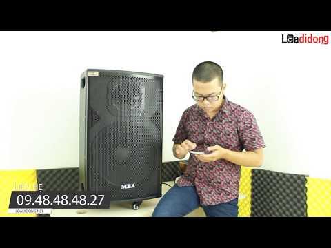 Review loa kéo MBA DSP - 15Plus chuyên hát karaoke