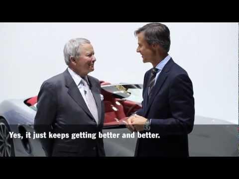 Dr. Wolfgang Porsche und Porsche Designchef Michael Mauer über den neuen Boxster