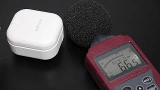 아이리버 토네이도 바디팬 - 1~3단 소음 측정