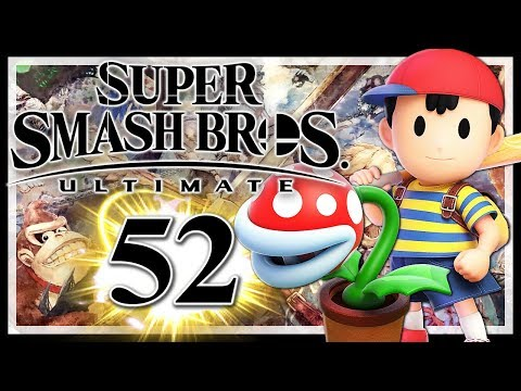 SUPER SMASH BROS. ULTIMATE # 52 👊 Classic Mode: Piranha-Pflanze & Ness! • Super Smash Bros. Ultimate thumbnail