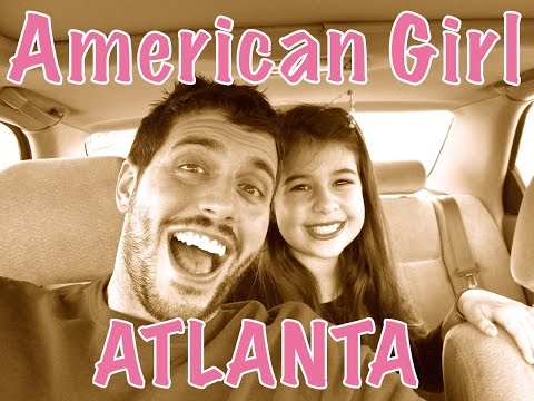 SHOPPING AT THE AMERICAN GIRL PLACE IN ATLANTA WITH A SPECIAL GUEST