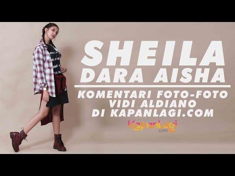 Sheila Dara Aisha Komentari Foto-Foto Lama Vidi Aldiano