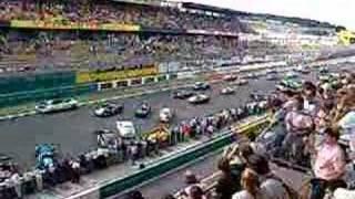 """Le Mans Classic 2006 - """"Salida Le Mans"""""""