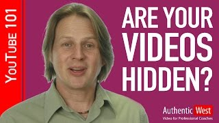 Get more video views: Check for this common problem on your channel - with Brighton West