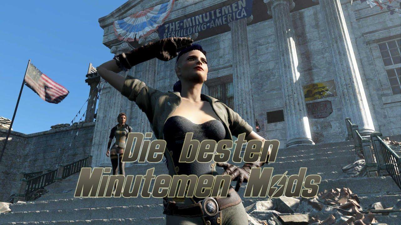 Minutemen Mods - Fallout 4 Faction Mods (PC/PS4/XB1) - deutsch/german
