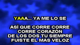 Jesse y Joy Feat La Republika - Corre Karaoke Version Bachata MP3+G / Karafun Player