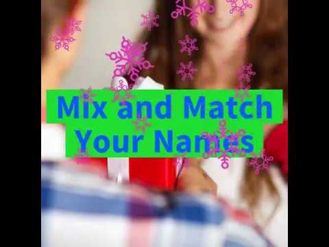 Mix and Match words