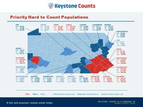 2020 Census: Learn About What's at Stake for Pennsylvania