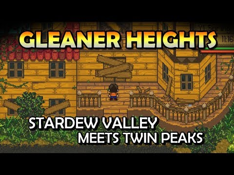 Stardew Meets Twin Peaks | Gleaner Heights - Suburban Gothic Farming Game