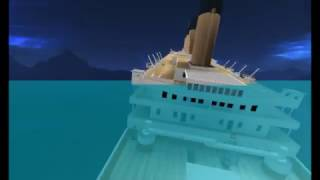 my real titanic sinking theory,roblox studio with signals