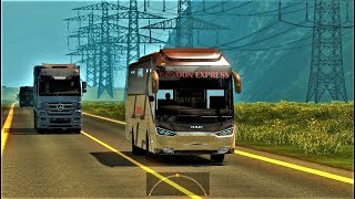 ETS2: BD Creative Zone Tracking Map | Hill City to Green City | London Express by Hino RN  | Part-2