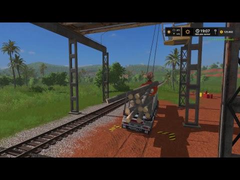 Farming simulator 17 Estancia Lapacho - part 14 selling wood